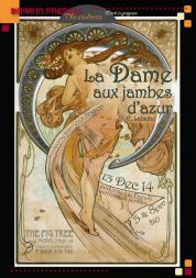 La Dame aux jambes d'azur By Dram'in French